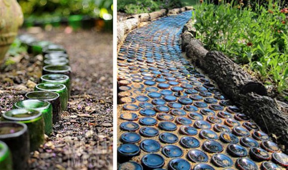 recycled-glass-bottles