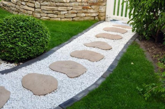 stone walkways garden path design ideas 4 - Garden Path Ideas