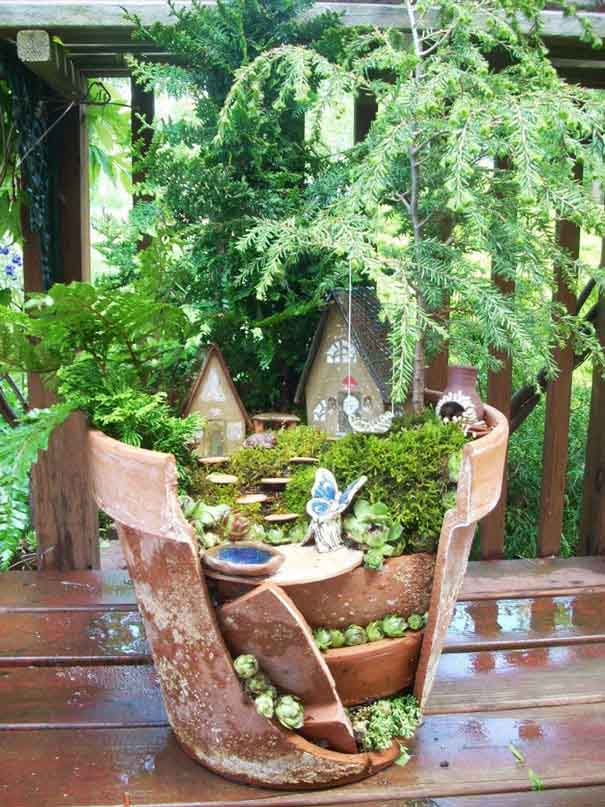 beautiful fairy garden