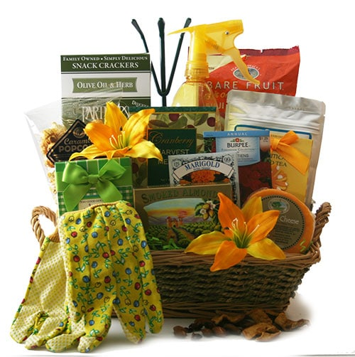 garden gift basket mothers day gift