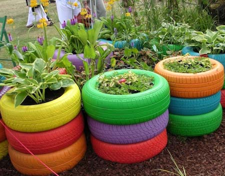 8 Tire Garden Ideas You Must Look At Balcony Garden Web