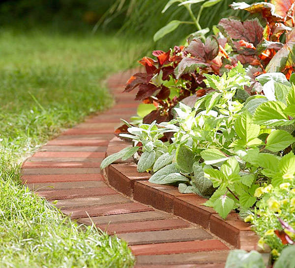Attirant Garden Edging Brick Edging
