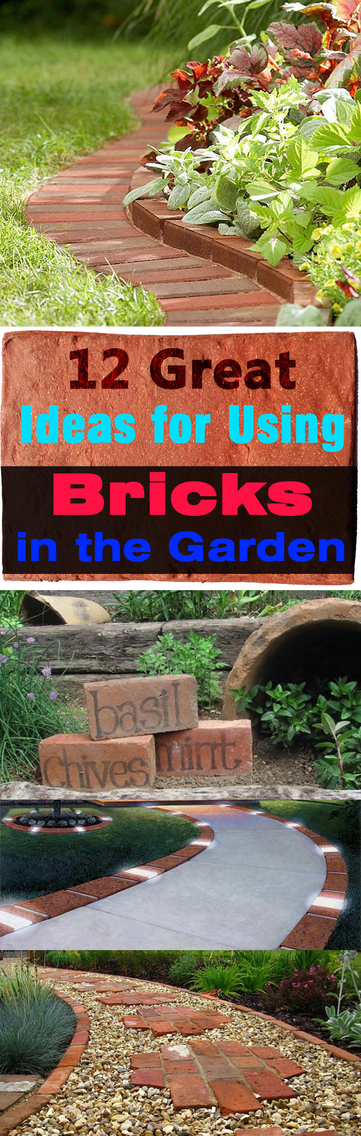 Bricks are one of the oldest materials we are still using, they are used in construction, but do you know using bricks in garden is possible, too.