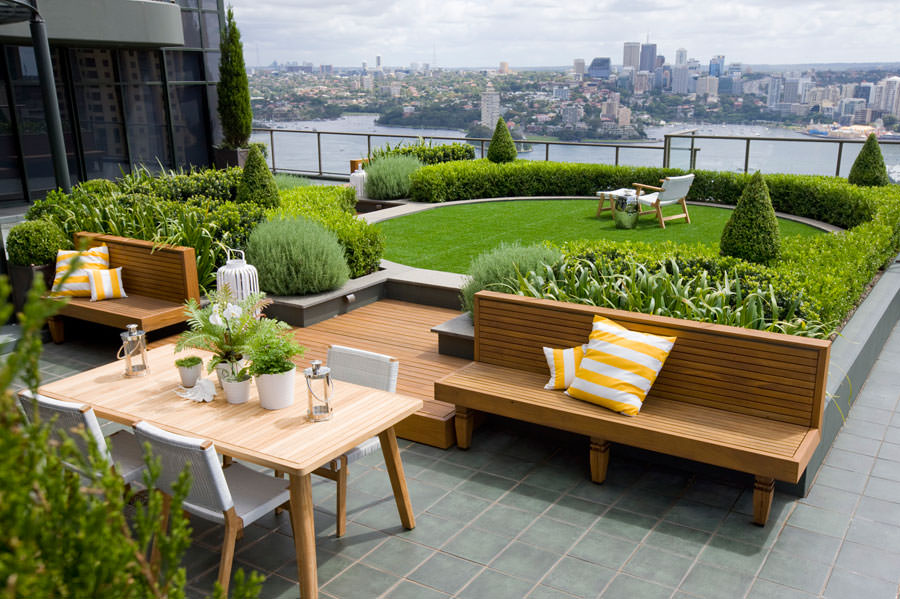 Roof Garden Construction Step By Step Details