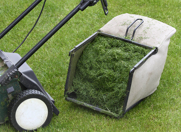 grass clippings use in garden