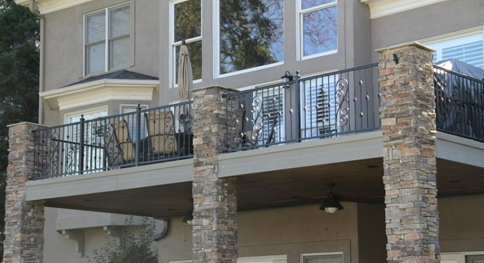 Front Elevation Steel Design : Balcony railing designs pictures you must look at
