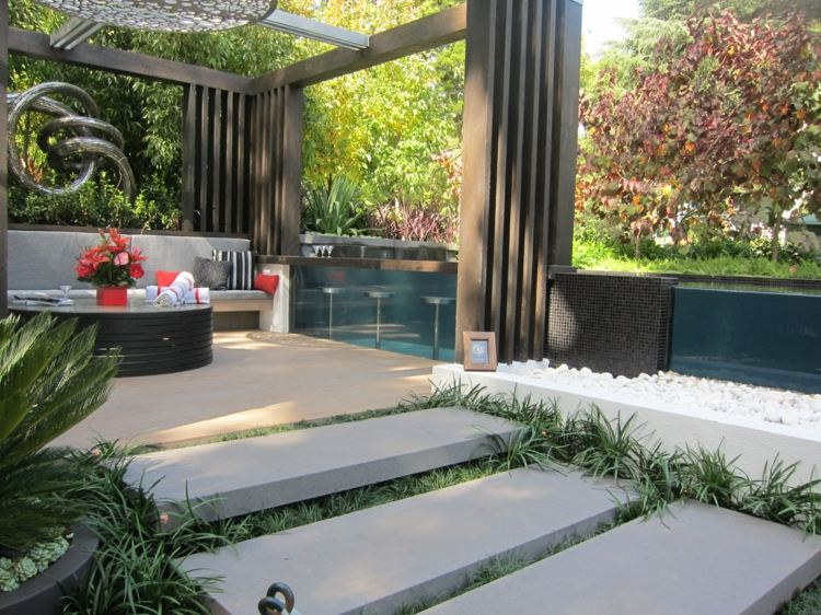 18. modern pergola ideas (14) - Modern Pergola Design Ideas