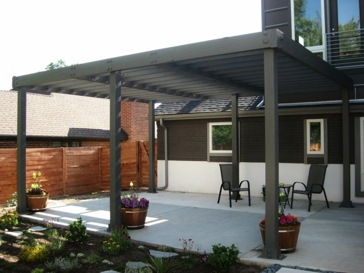 15. modern pergola ideas (18) - Modern Pergola Design Ideas