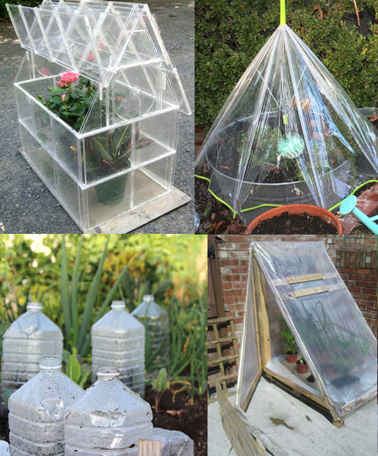 Diy Balcony Garden Ideas: Easy DIY Mini Greenhouse Ideas