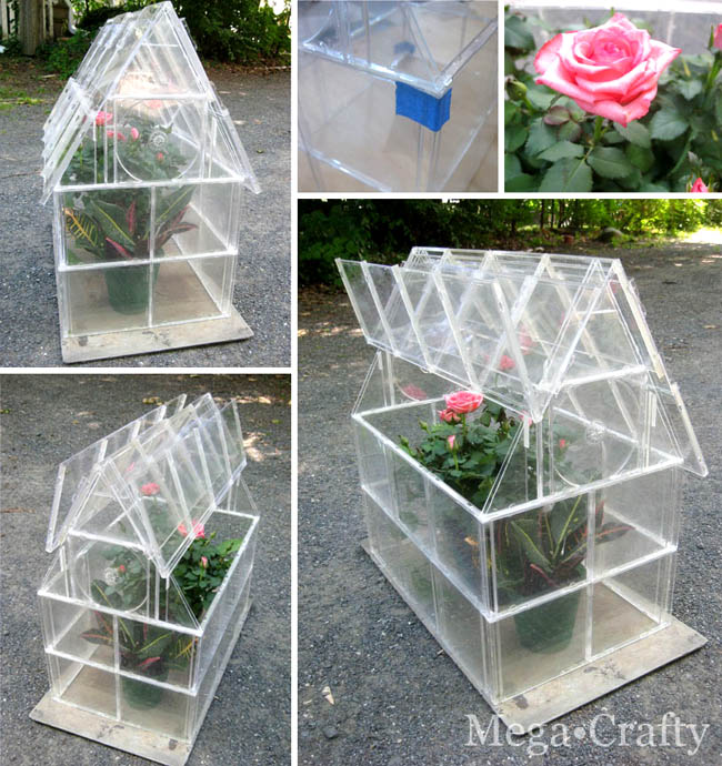 Easy DIY Mini Greenhouse Ideas | Creative Homemade