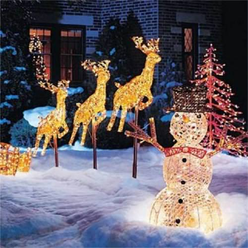 Christmas Garden Decoration Ideas | Outdoor Christmas Decorations ...