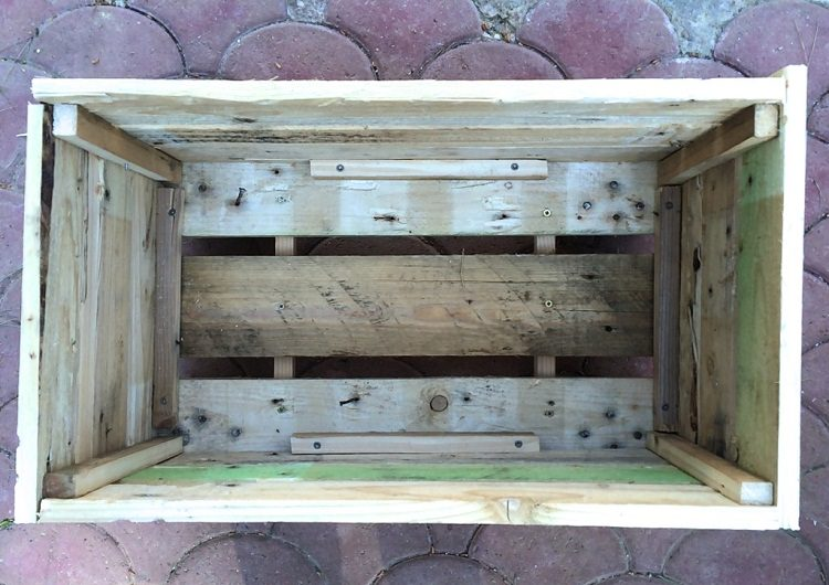 Diy Pallet Planter How To Make A Pallet Planter Balcony