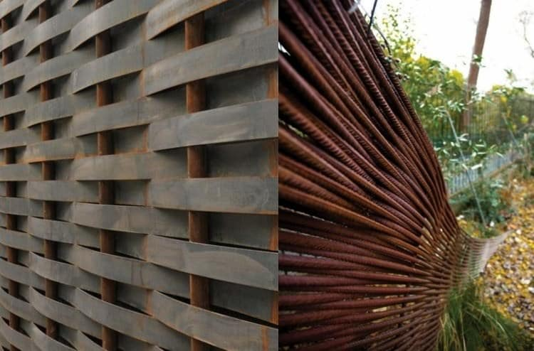 16 Corten Steel Landscaping Ideas For Garden Design