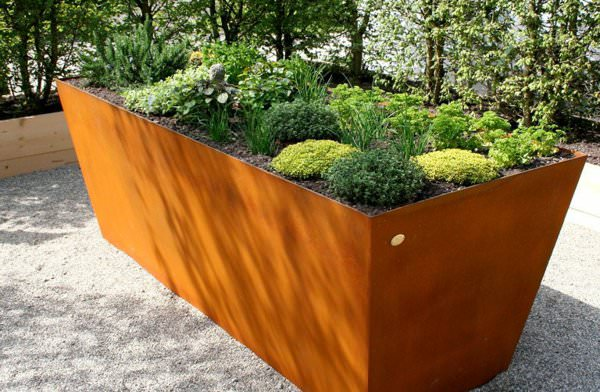 Corten Steel Raised Bed