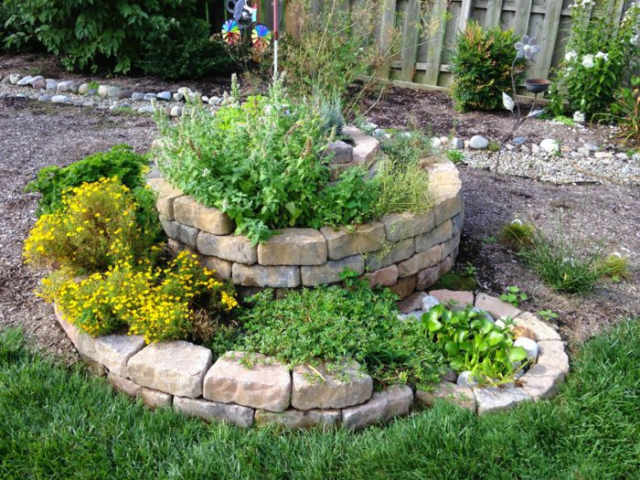 How To Build A Spiral Herb Garden Spiral Garden Design Plants And