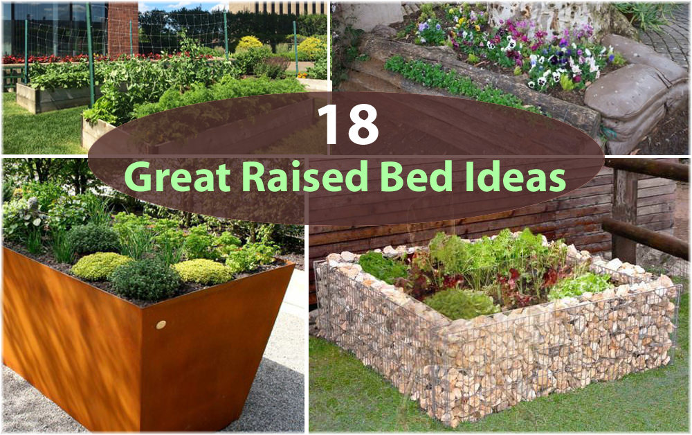 18 Great Raised Bed Ideas | Raised Bed Gardening | Balcony ... on vegetable garden fence ideas, raised garden on hill, vegetable garden trellis ideas, raised garden fence design, raised garden with fountain, best vegetable container ideas, raised garden wall ideas, raised vegetable beds, small garden ideas, vegetables in flower garden ideas, raised vegetable gardens for beginners, landscape design ideas, raised container gardens ideas, flower bed design ideas, cute vegetable garden ideas, garden beds on sloped backyards ideas, landscape vegetable ideas, raised garden planter boxes ideas, raised veggie garden ideas, cool fall garden ideas,