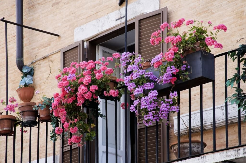 11 Small Apartment Balcony Ideas with Pictures | Balcony ... on Apartment Backyard Patio Ideas id=58171