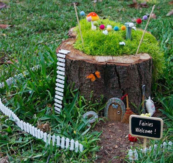 tree stump garden ideas (1)