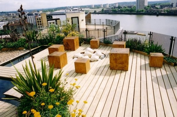 Roof Terrace Garden Design