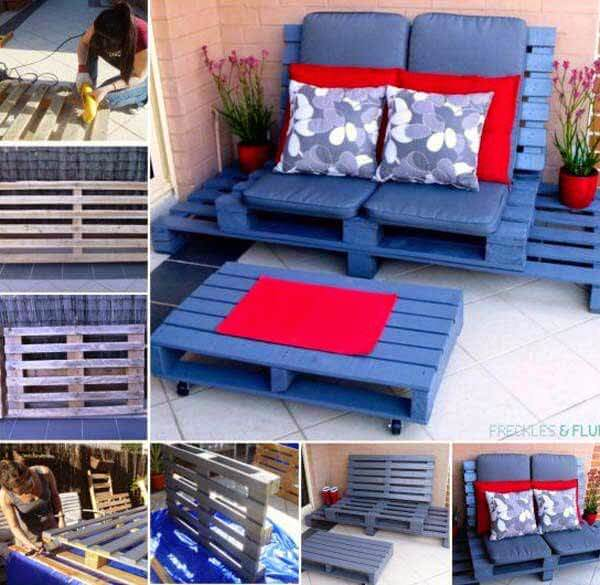 Diy Garden Furniture Ideas 10 Balcony Garden Web