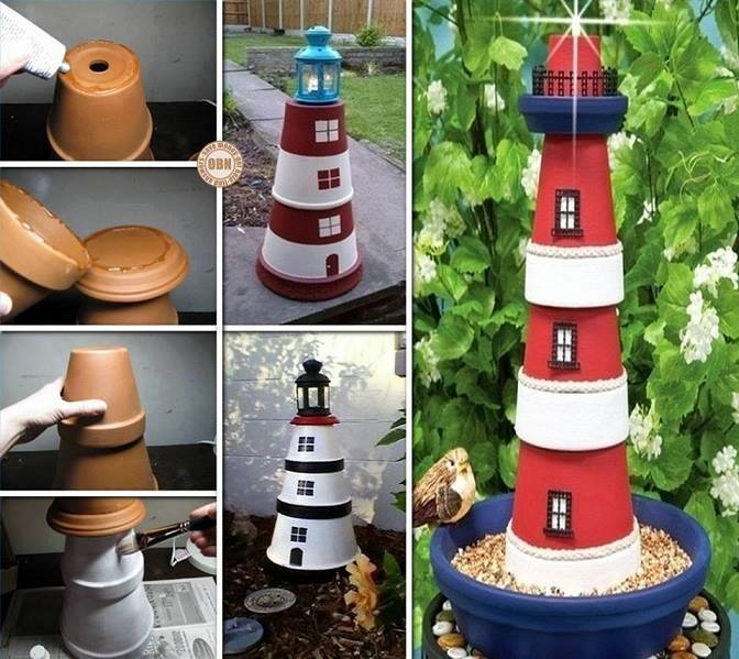 diy lighthouse