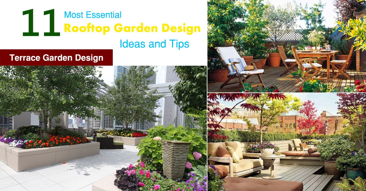 48 Most Essential Rooftop Garden Design Ideas And Tips Terrace Stunning Garden Design Courses Creative