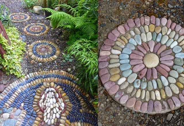 Good DIY Stepping Stones