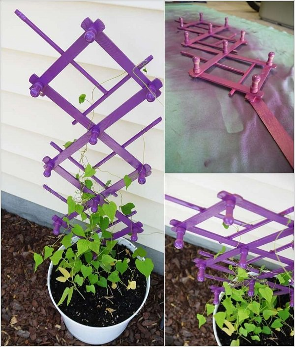 small garden trellis ideas