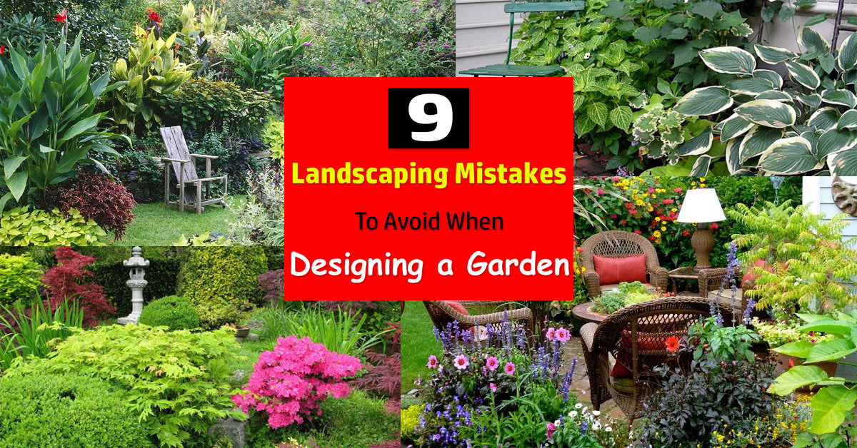 Genial 9 Landscaping Mistakes To Avoid When Designing A Garden | Balcony Garden Web