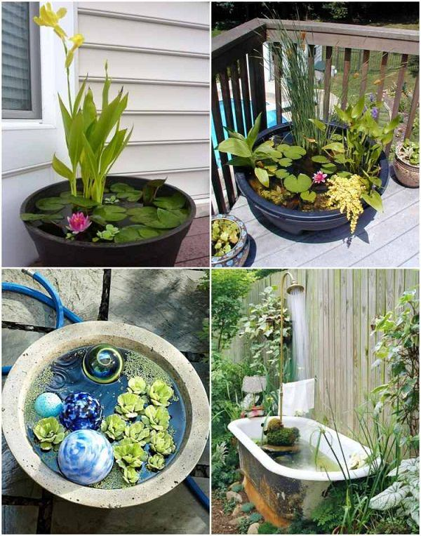 18 Cool Diy Ideas To Make Your Garden Look Great Balcony Garden Web