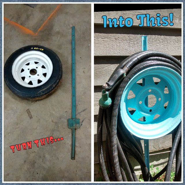 diy hose reel
