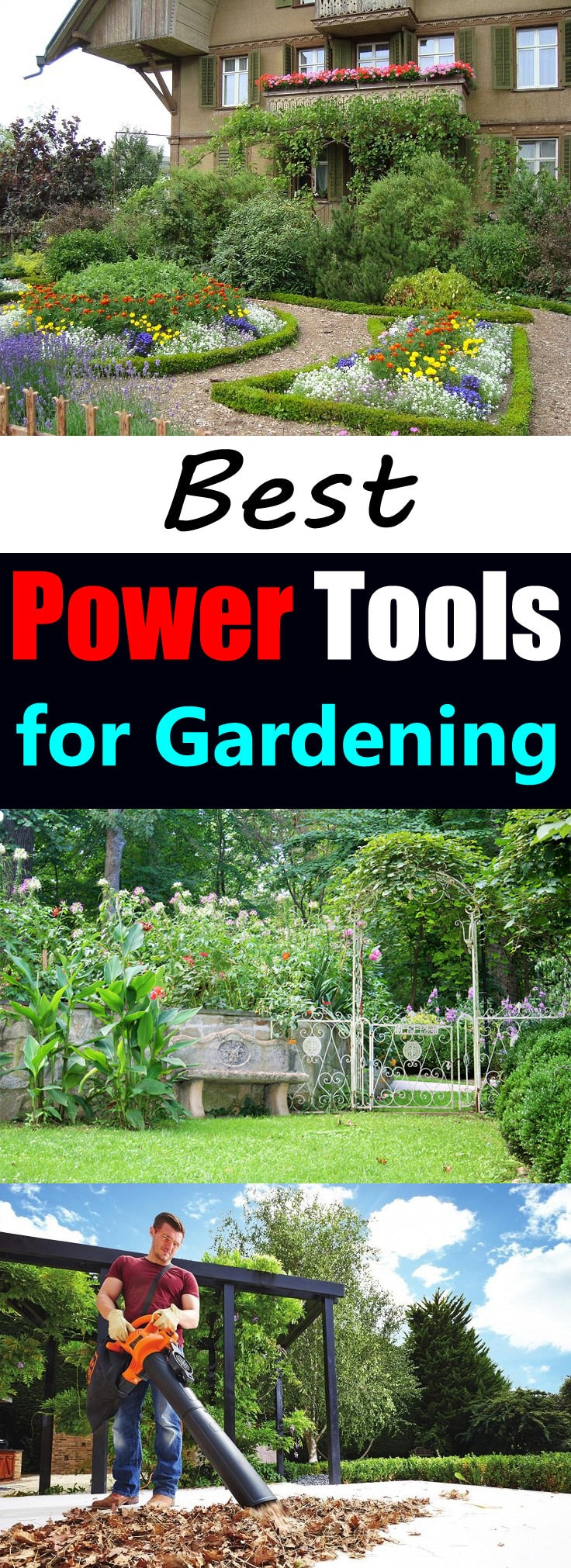 The use of tools and accessories can make the gardening more enjoyable and easy. And here are the best power tools for gardening you should know about.