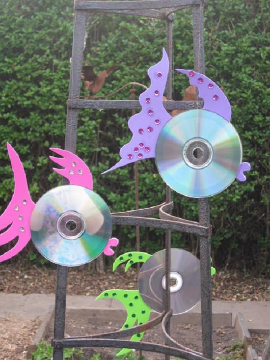 things to make from old CDs