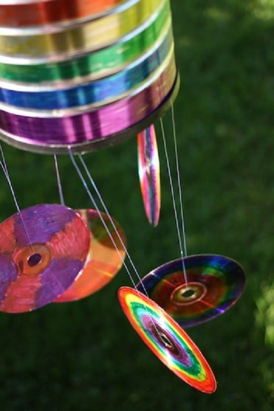 17 Diy Uses For Old Cds In Garden Things To Make From