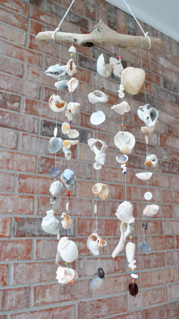 windchimes garden decor idea