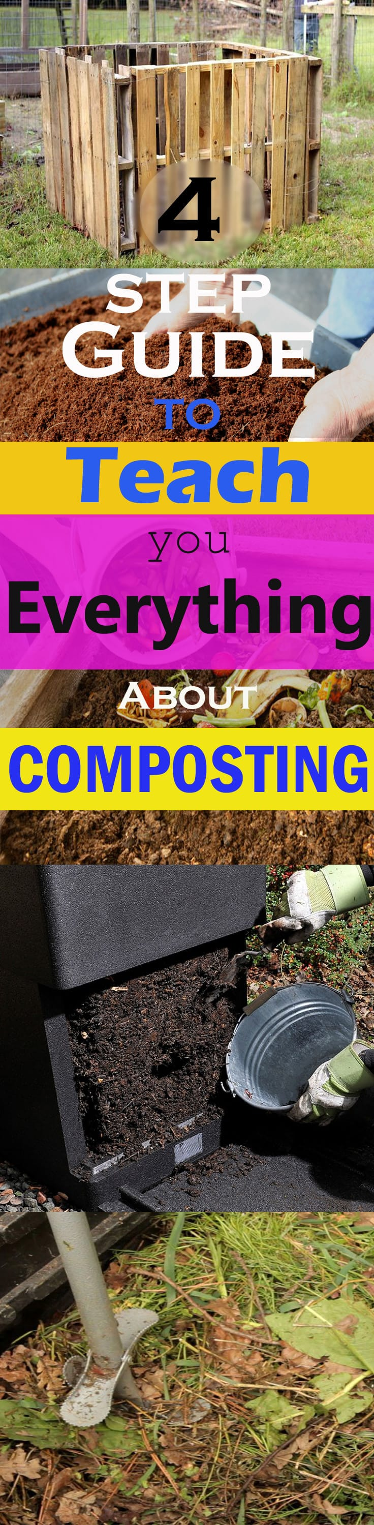 New to composting? Read on this 4 step COMPOSTING guide to learn everything you need to know to make your own compost!
