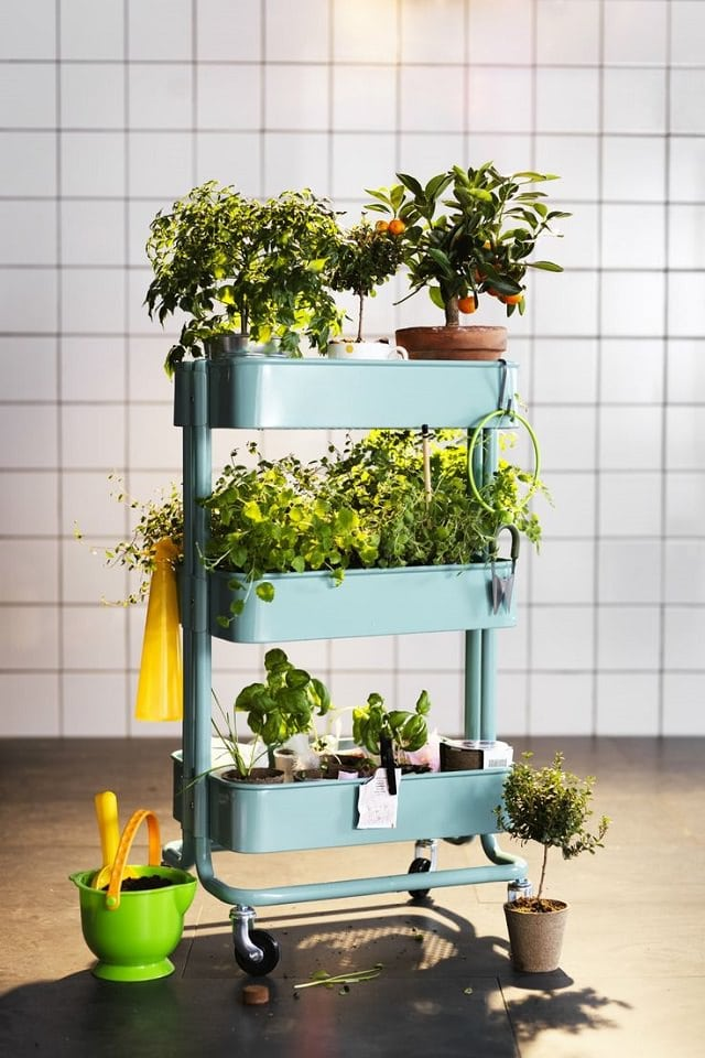 utility-cart-to-keep-pots