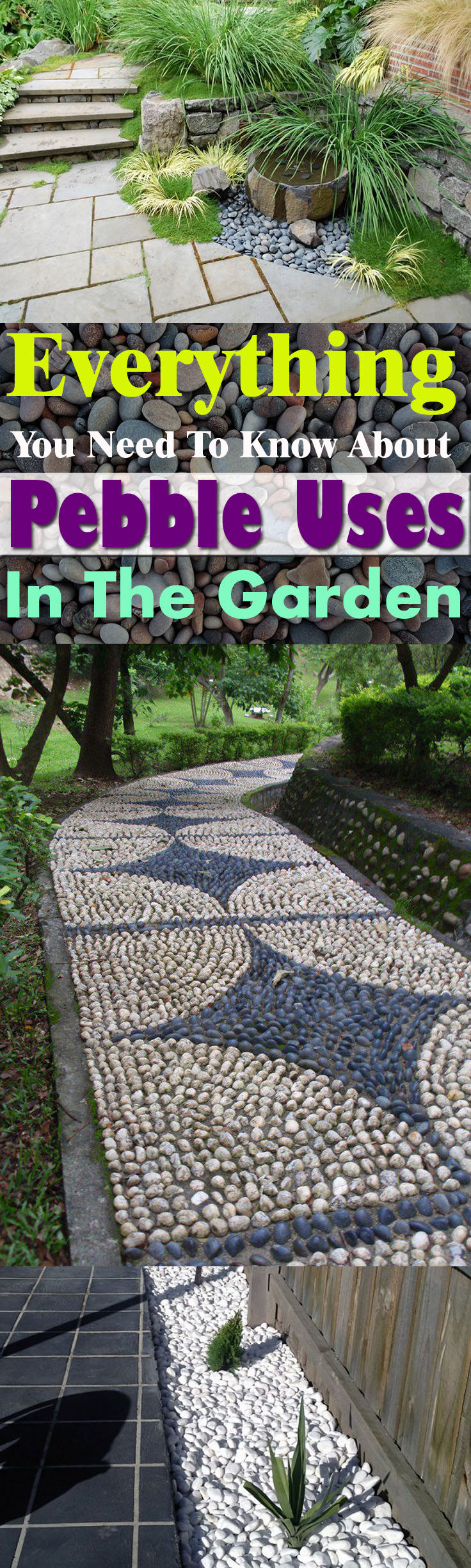 If you're looking for an easy and most amazing way to transform your garden then use garden Pebbles!