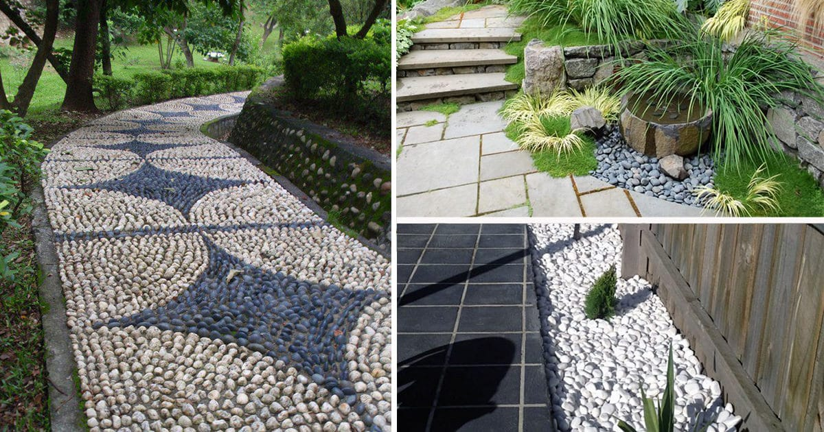 Everything You Need to Know About Using Pebbles in the ... on Pebble Yard Ideas id=45991