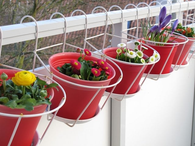 Balcony Garden - Creative Ideas for Garden Containers