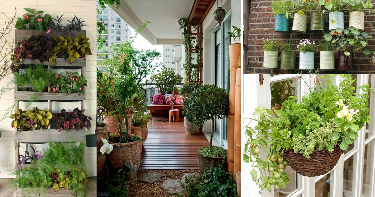 Creative Ideas for Balcony Garden Containers (2) | Balcony ...
