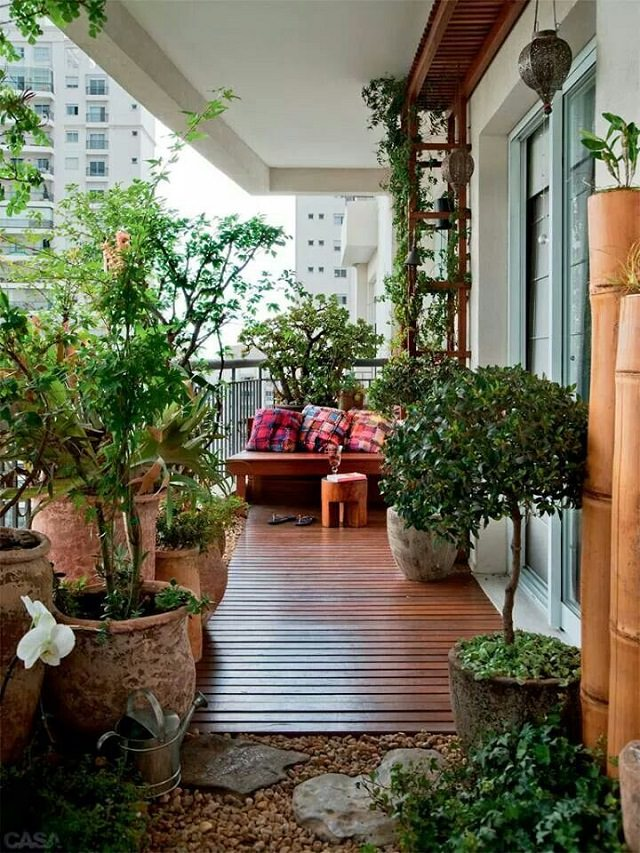 Creative Ideas for Balcony Garden Containers | Balcony Garden Web