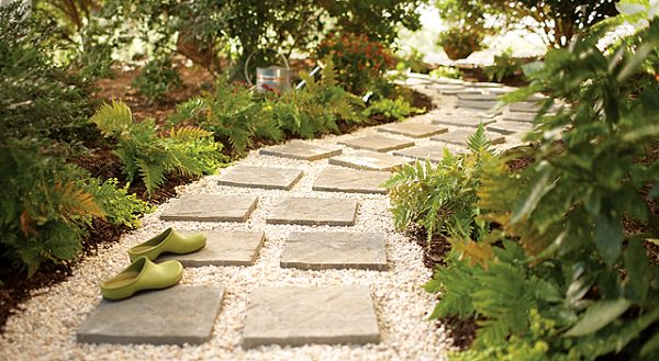 For This, You Need To Use Paver Stones And Pebbles (or You Can Use Gravel  If You Wish). Unlike A Traditional Paver Stone Path, This Kind Of Path Uses  Square ...