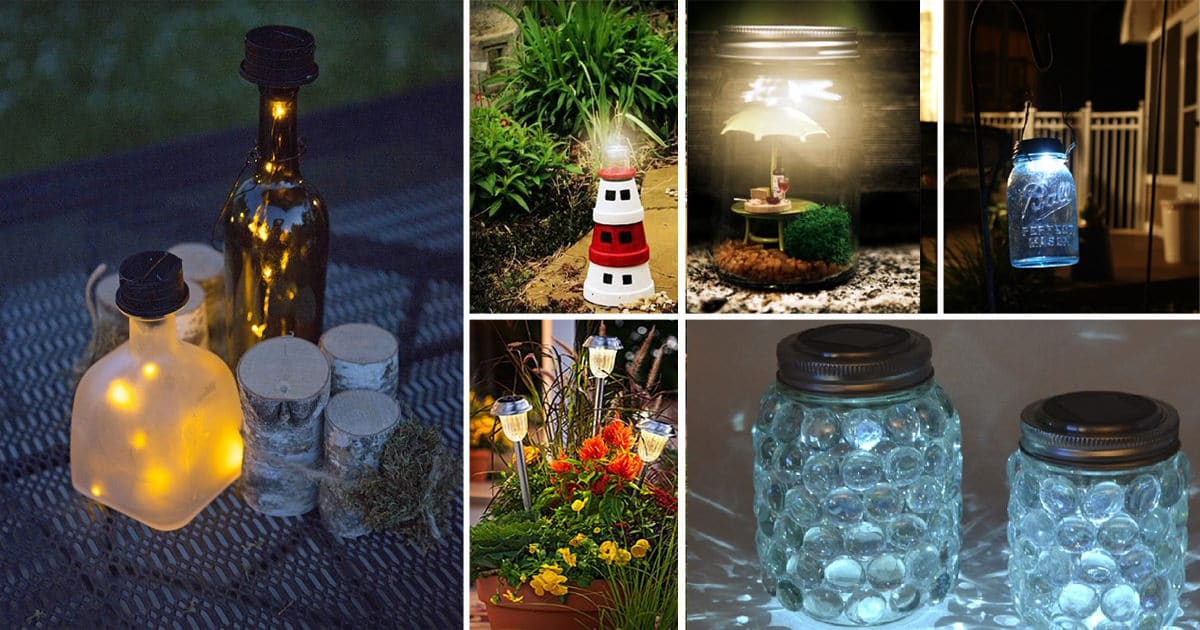 28 Cheap Easy Diy Solar Light Projects For Home Garden Balcony Garden Web