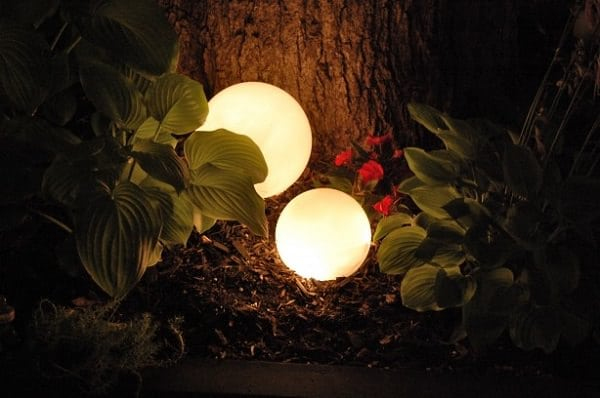 DIY Glowing Orbs