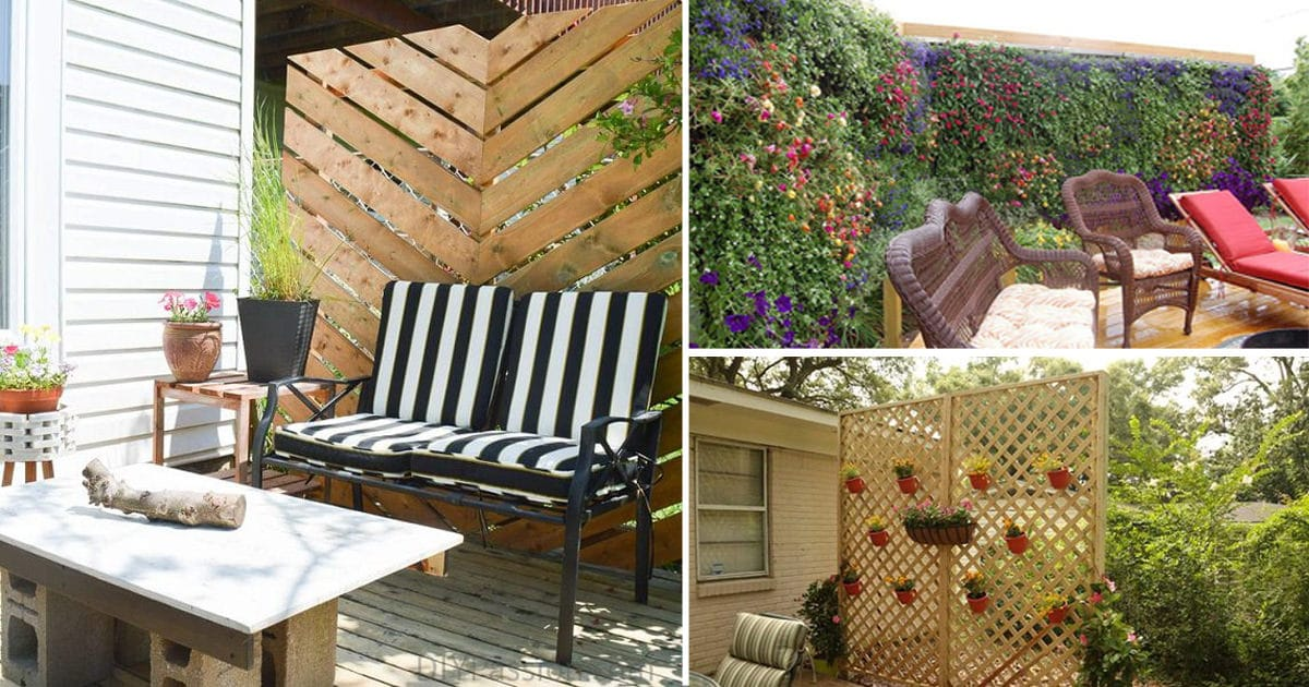 26 diy garden privacy ideas that are affordable incredible balcony garden web. Black Bedroom Furniture Sets. Home Design Ideas