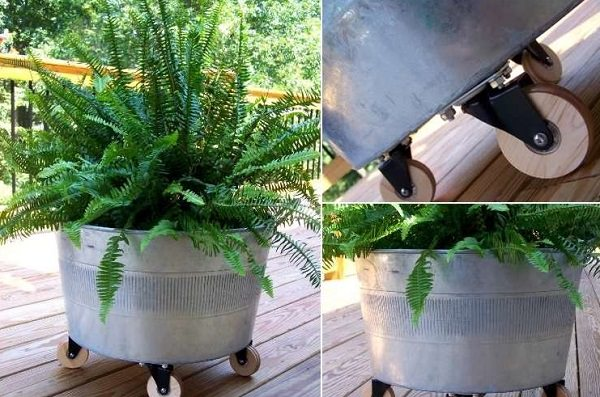 Movable Container Garden