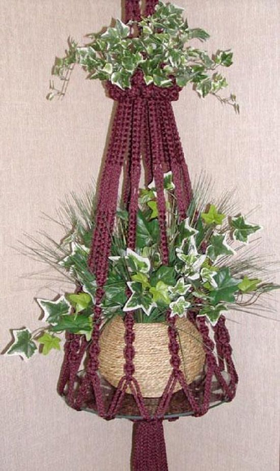 picture about Free Printable Macrame Plant Hanger Patterns named 23 Optimum Outstanding Macrame Plant Hangers Do it yourself Tips Balcony