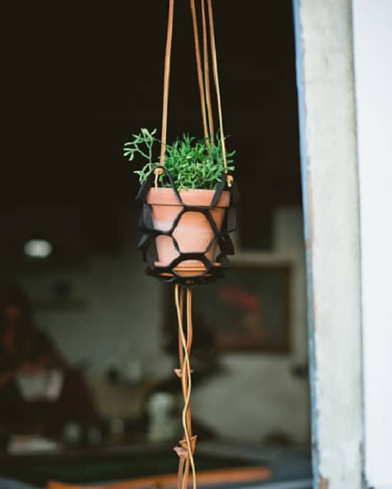 Creative Leather Macrame Hanger