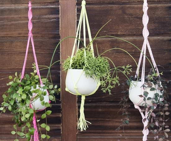 picture regarding Free Printable Macrame Plant Hanger Patterns identified as 23 Maximum Unbelievable Macrame Plant Hangers Do-it-yourself Options Balcony